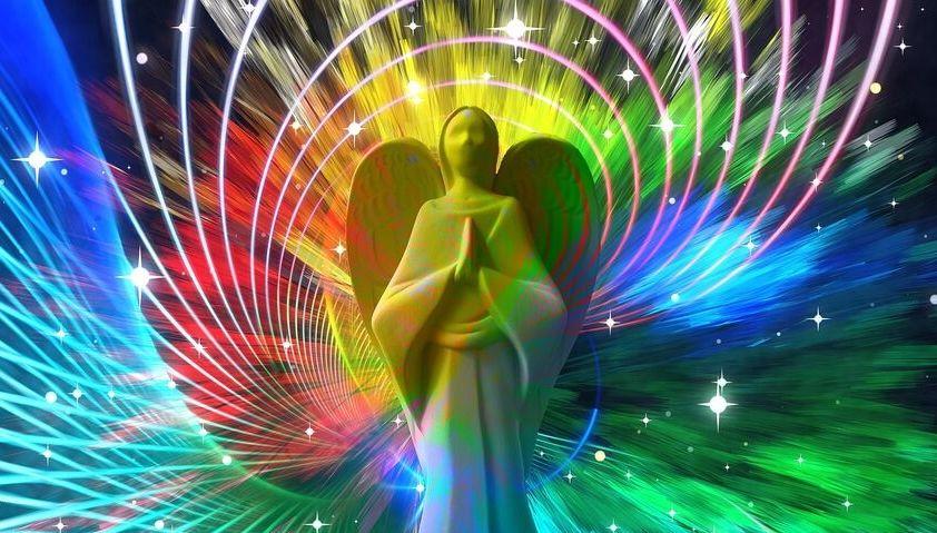 Color Burst Angel